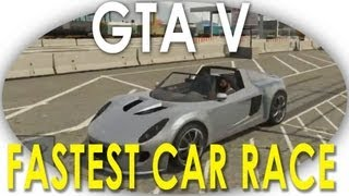 Fastest Car Coil (Tesla Roadster) Vs Adder (Bugatti) Race