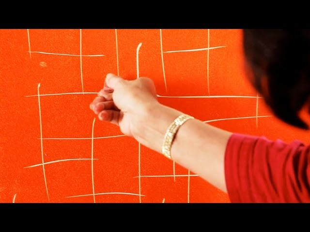 How to Do Sgraffito Painting aka Scratching | Paint Techniques