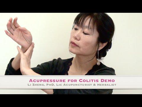 Colitis Acupressure Demo