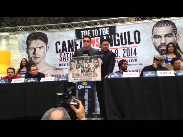 Canelo Alvarez on fighting perro angulo EsNews Boxing