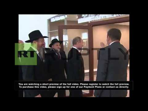 Russia: Ancient Jewish library welcomed to new home in Moscow