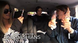 KUWTK | Khloe & Kim Kardashian Go on Food Binge Before Diet | E!