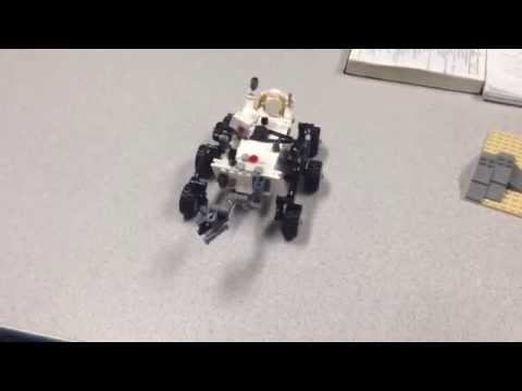 And the winner of the LEGO Curiosity Rover is...