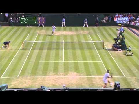 Nadal vs Rosol - Wimbledon 2014 - Highlights ITA - ProTeox -