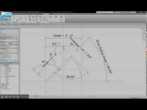 Revit Tips and Tricks: Door Swing Change Angles