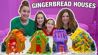 GINGERBREAD HOUSE DECORATING CHALLENGE