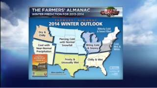 Farmers' Almanac 2013-2014 Winter Prediction