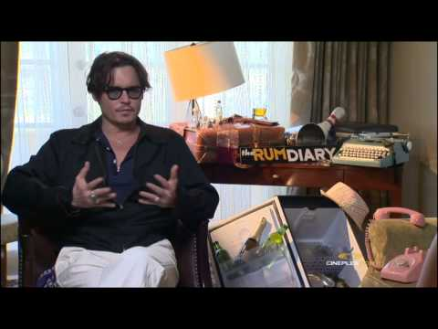 Johnny Depp, Amber Heard, Aaron Eckhart and Bruce Robinson, The Rum Diary - Interview