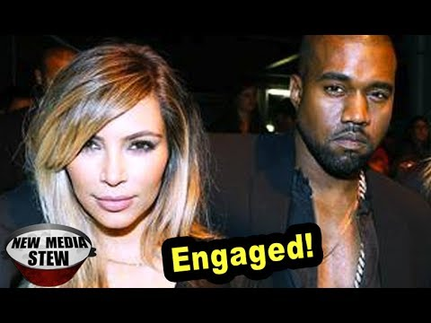 KIM KARDASHIAN, KANYE WEST ENGAGEMENT PROPOSAL Rings Throughout Twitter
