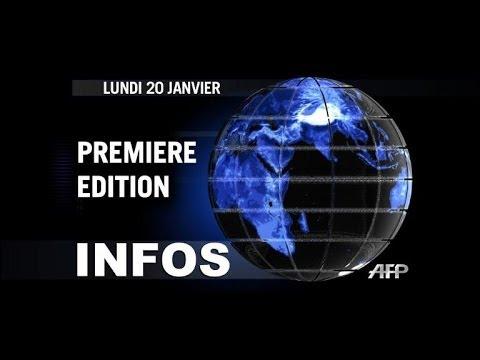 AFP - Le JT, 1ère édition du lundi 20 janvier.