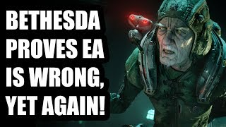 Bethesda Proves Yet Again How EA Is Wrong About Single Player Games