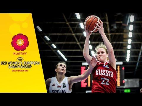 Видеотрансляция матча Россия - Сербия U20