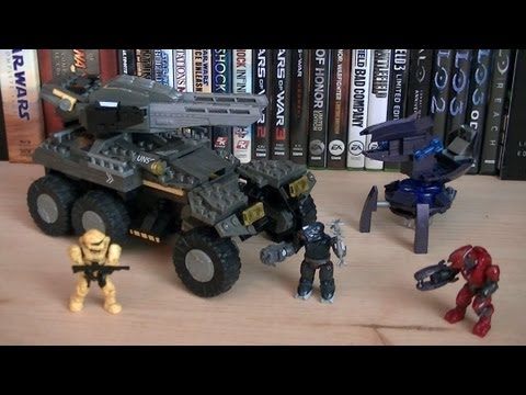 Halo Mega Bloks 97139 UNSC Anti-Armor Cobra (Lights & Sounds) Review