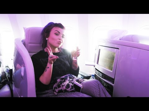 FIRST TIME IN BUSINESS CLASS
