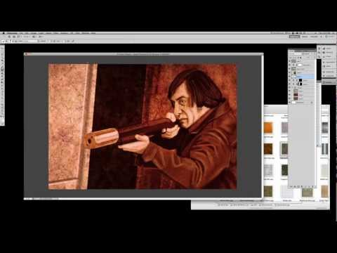 Quintek Speed Painting Episode 10: Anton Chigurh