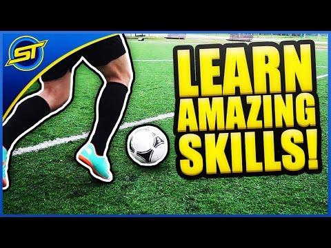 LEARN FOOTBALL SOCCER SKILLS - YouTube