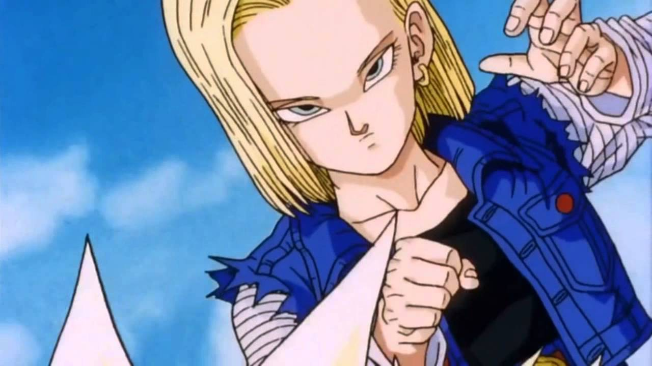 Dragonball z android 18 and android 17 vs gohan youtube - Dragon ball z c18 ...