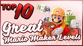 10 Well-Designed Mario Maker Levels