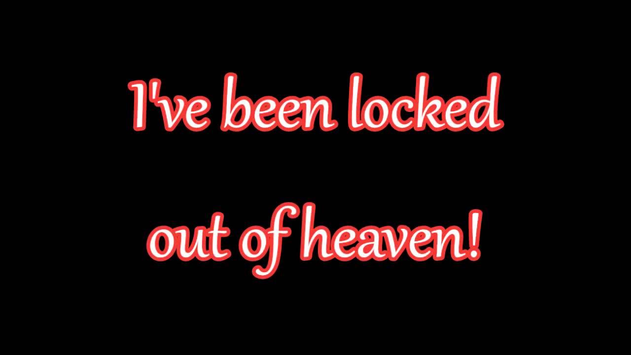 Glee Locked Out Of Heaven Lyrics Hd Youtube