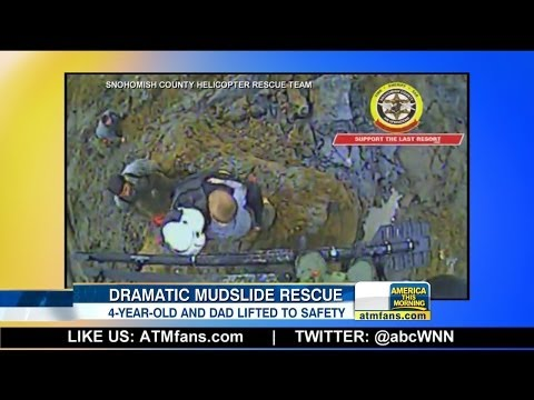 New Video Shows Boy Rescued from Mudslide