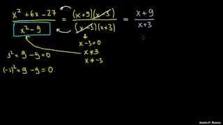 Poenostavljanje racionalnih izrazov 1