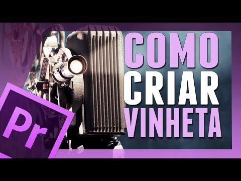 Premiere Pro CS6 - Tutorial Criando uma Vinheta (HD).