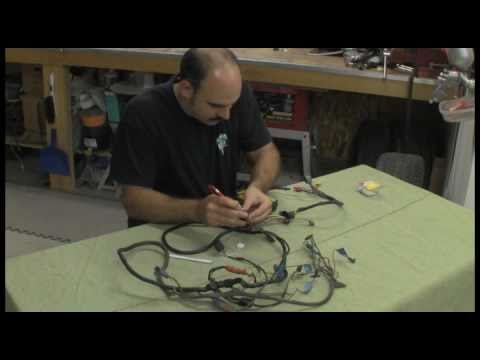 Episode 10 part 2 Fix your car's wiring harness autorestomod.f4v