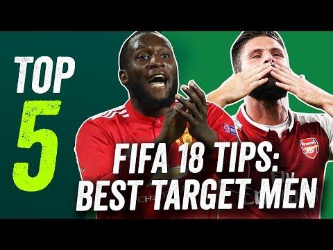 FIFA 18 tips: Lukaku, Giroud and more of the best target men in the game!