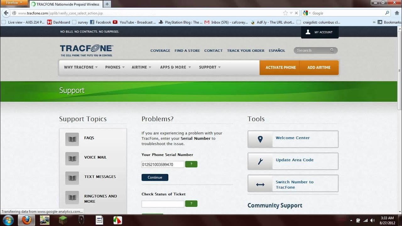 unlock code for tracfone