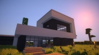Minecraft Modern House Modernes Haus HD YouTube - Minecraft schone hauser bauplan