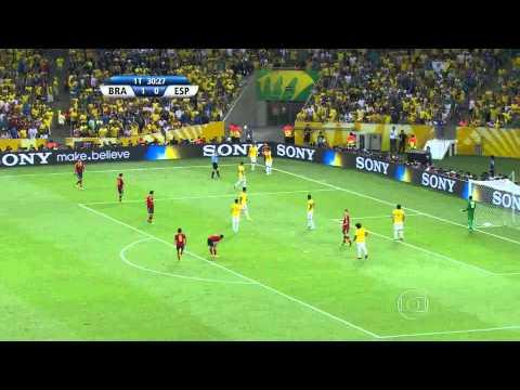 Final da Copa das Confederações 2013 - Brasil 3 x 0 Espanha (Tetra Campeão)