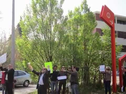 Les Algériens indignés contre le 4ème mandat de Bouteflika à Montpellier
