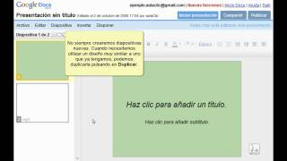 Curso de Google Docs. Parte 17