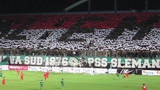 Atmosfir Stadion Timnas U-19 Vs PSS Sleman Koreografi