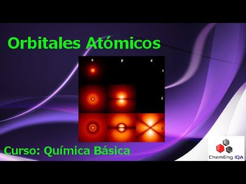 Orbitales atómicos // QB161