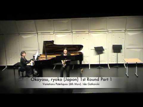 Okayasu, ryoko (Japon) 1st Round Part 1