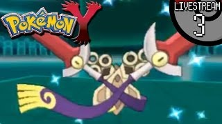 Pokemon X And Y Livestream #3: Shiny Eviolite Doublade