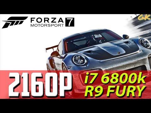 [i7 6800k/R9 FURY] FORZA 7 - 4K PC Gameplay (Max / Very High / Ultra Settings) w/ FPS Walkthrough