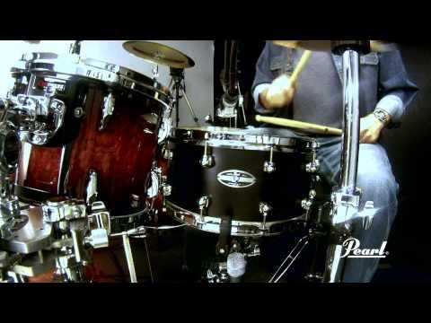Pearl Hybrid Exotic 14x6.5 Cast Aluminium Snare Drums