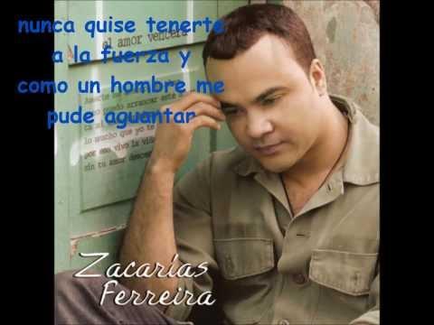 Zacarias Ferreira - Dime Que Falto - Letra