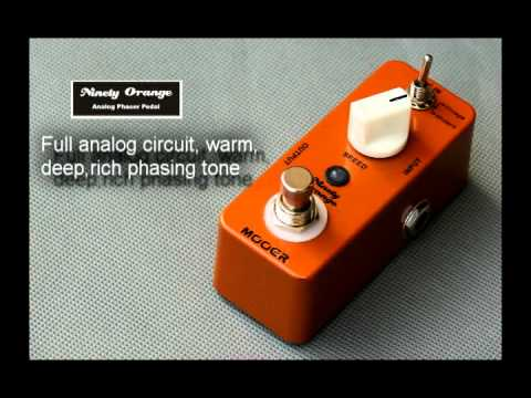 Mooer Ninety Orange Phaser Guitar Effects Pedal