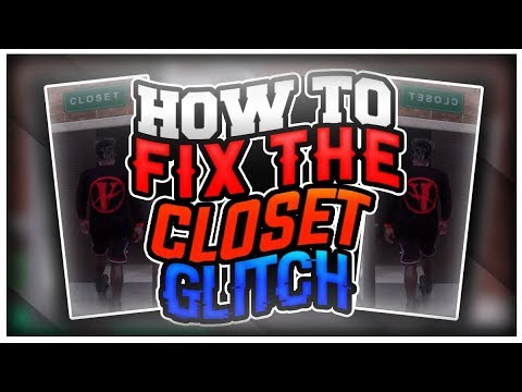 NBA 2k18 HOW TO FIX THE CLOSET GLITCH   WEAR YOUR CLOTHES IN THE CLOSET