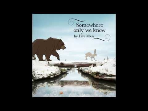 Lily Allen - Somewhere Only We Know Instrumental
