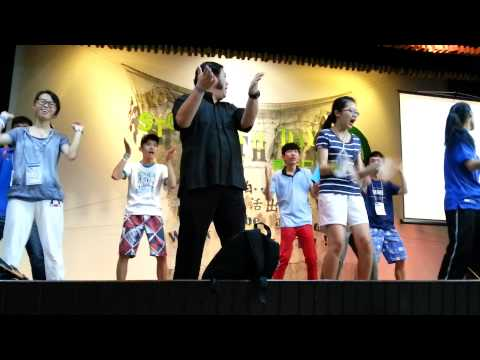 STC Youth Day 2013 - Morning Exercise With Fr Patrick Tyoh