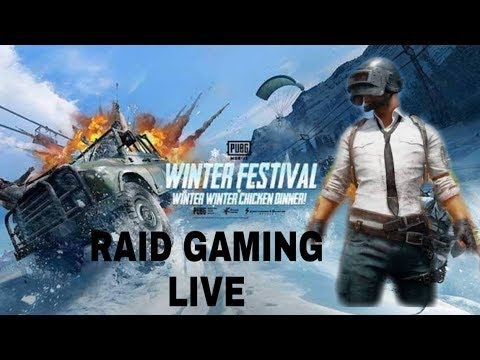 PUBG MOBILE LIVE FUNNY MATCHING WITH YOUTUBERS  GFAAD GAMEPLAY !RAID FOR UR POINTS