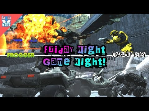HALO: Reach FRIDAY NIGHT GAME NIGHT!  Frogger & Crash-Up-Derby  #2