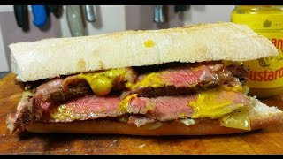 The Finest Steak Sandwich, Ever.#SRP
