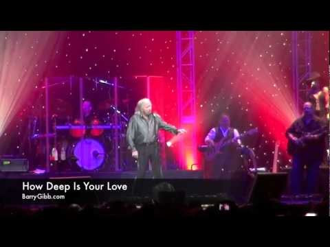 Barry Gibb Live 2012 - How Deep Is Your Love