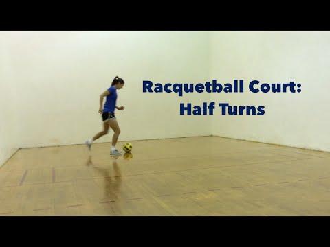 Racquetball Court Training Pt. 1: Half Turns | YFutbol