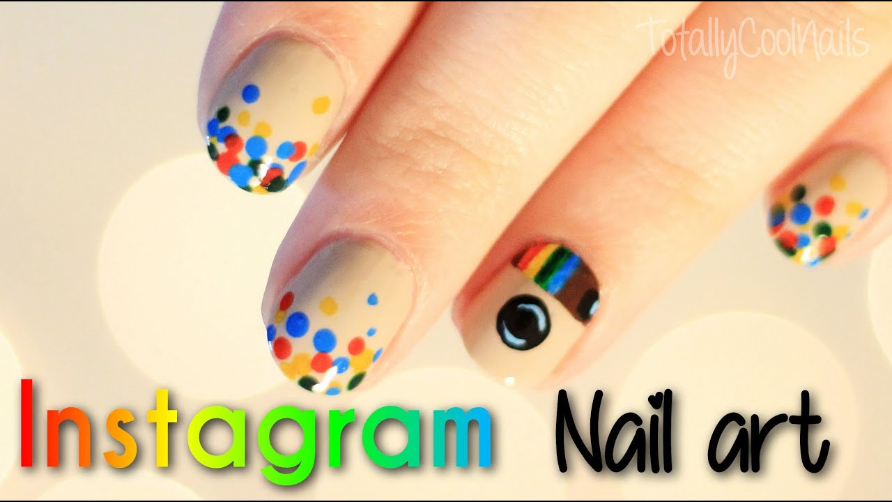 Instagram Nail Art | TotallyCoolNails - YouTube